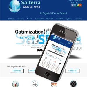 Salterra is your local Affordable Arizona SEO Company, we are the premier SEO company in Arizona
